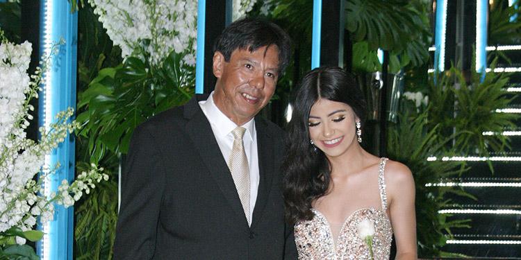 Katia Aguilar y Oswaldo Aguilar