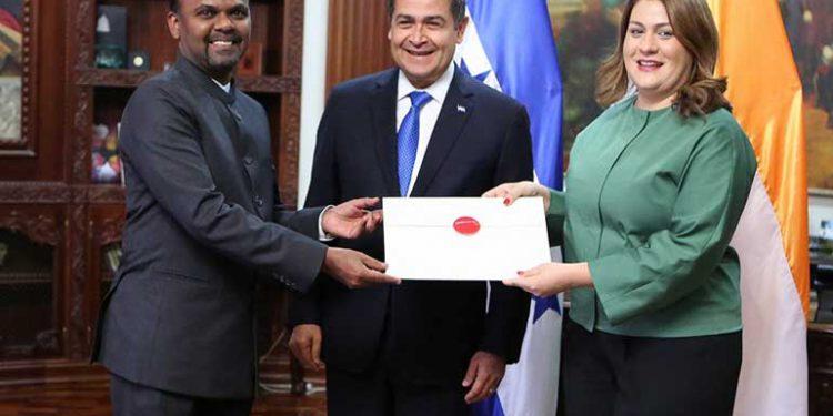 Embajador de India concurrente en Honduras, Bawa Syed Mubarak