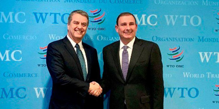 Empresarios tienden invitación al secretario general de la OMC
