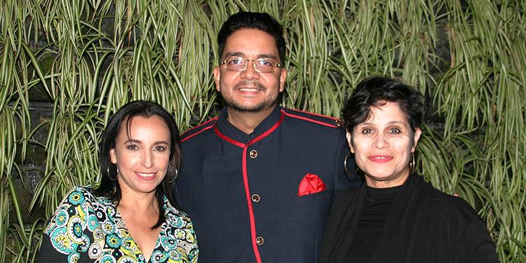Wendy Aguilar, Enrique Oyuela, Alejandra Paredes.