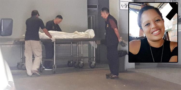 Tras morir en la Sala de Emergencia del Hospital Escuela Universitario, el cuerpo de la joven promesa de la educación física fue trasladado a la morgue capitalina.