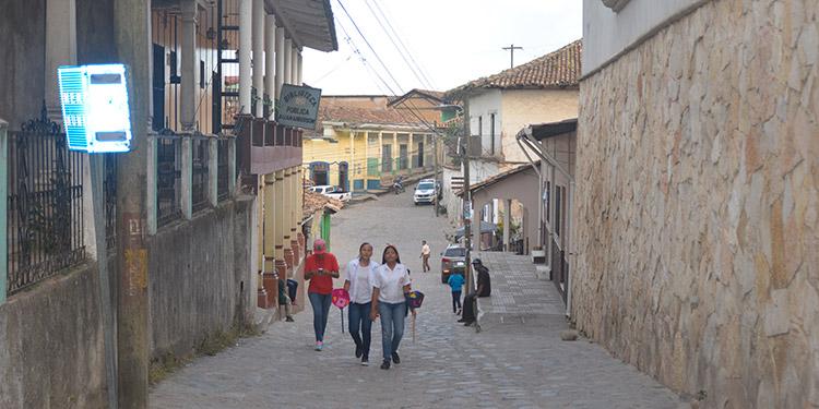 De estilo colonial, el casco histórico de Yuscarán es un extraorinario atractivo turístico.
