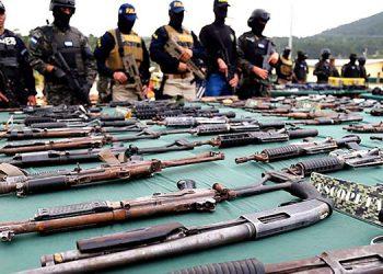 En agosto del 2017, las autoridades encontraron el arsenal, en la cárcel de Támara,  estaban en poder de la Mara Salvatrucha (MS-13) y de la Pandilla 18.