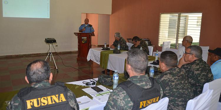 """Autoridades de Fusina a nivel nacional aseguran una fuerte intervención en El Paraíso para contrarrestar el flujo de """"maras"""" y pandillas."""