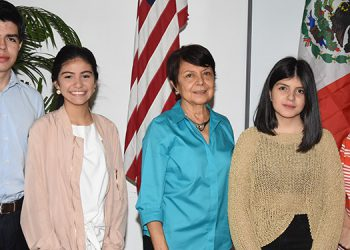 Rodrigo Aguilera, Katia Aguilar, Ana de Merriam, Ana Salgado, Clara Barrios.