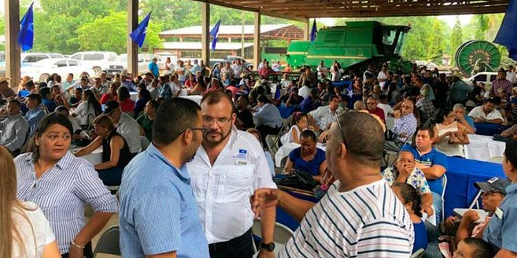 """El diputado nacionalista, Jorge Lobo, integra el movimiento, """"Todos por el Cambio"""", estuvo presente en la primera reunión de la corriente que lidera su padre; el expresidente Lobo Sosa."""