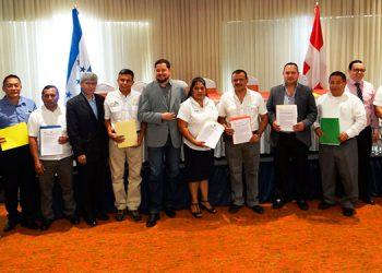 Esta firma de convenio se realizó en el marco del programa Desarrollo Económico Inclusivo Territorial de la Región 13.