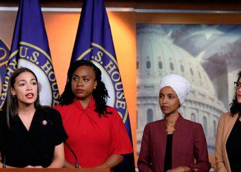 Congresistas demócratas denominadas The Squad.