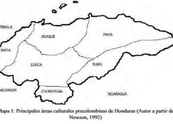 Mapa de Áreas Culturales Precolombinas
