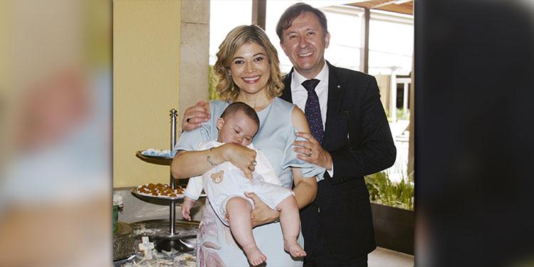 María Rivera, el pequeño Jean Philipe, Jean Pierre Lacombe.