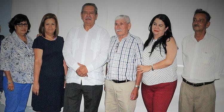 Dina Mármol, Sandra Rivera, Adán Elvir, Aquiles Andino, Ligia Cervantes, Adolfo López.