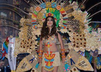 Hermosas jovencitas exponentes de la belleza oriental participarán en los reinados del Festima 2019.