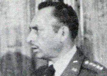 General de División, Policarpo Paz García, Héroe Nacional, jefe de las Fuerzas Terrestres en el sur de Honduras.