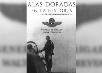 Portada del libro del general (r) Walter López Reyes con motivo del 50 aniversario de la guerra entre Honduras y El Salvador en 1969.