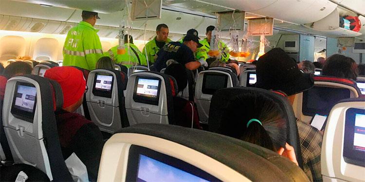 Vuelo de Air Canada aterriza de emergencia en Hawái
