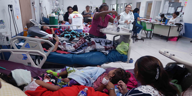 Autoridades de Salud han confirmado la muerte de 101 personas por la  epidemia del dengue.