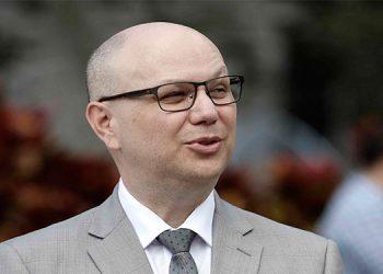 En la imagen, el ministro de Seguridad Pública de Costa Rica, Michael Soto. EFE