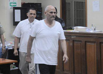 """El expolicía y abogado Wilmer Samuel Álvarez y Luis Alejandro Castro Núñez fueron declarados culpables del asesinato de Orlan Chávez, conocido como """"Fiscal de Oro""""."""