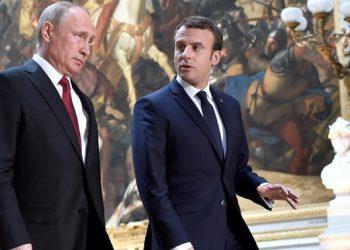 Putin y Macron