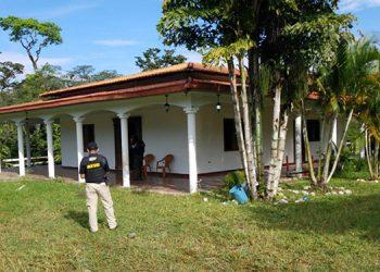 Tres viviendas fueron aseguradas ayer por la ATIC, las cuales se encuentran dentro de los 31 bienes.