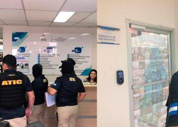 La ATIC cayó ayer en la tarde para una inspección, seguido de un posible secuestro de documentos.