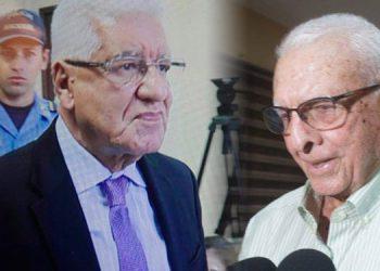 A Wilfredo Cerrato y Ramón Loco (derecha) se les dictó dictaron un sobreseimiento definitivo a mediados de este año.