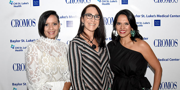 Monica Wong, Maria Elena Botazzi y Regina Wong.