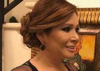 Carol Alvarado fue candidata a diputada y es la actual esposa de José Antonio Galdámez, ex ministro de Mi Ambiente.