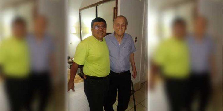 """José Cerrato y """"Chelato"""" Uclés."""