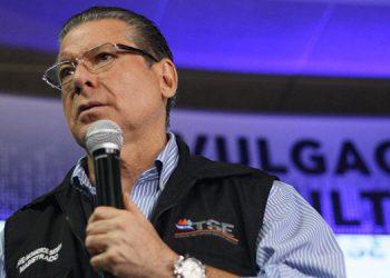 David Matamoros Batson fue magistrado del Tribunal Supremo Electoral durante los  dos últimos períodos.