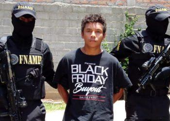 Selvin Alexander Perdomo es un supuesto integrante de la MS-13 en Comayagua.