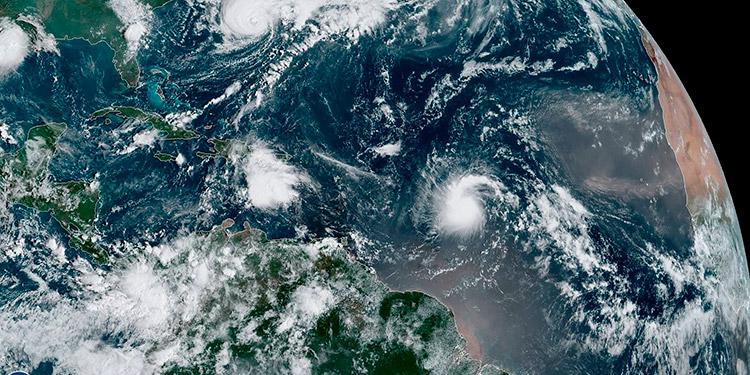 Clima: Nueva tormenta tropical; se forma 'Imelda' en el Océano Atlántico