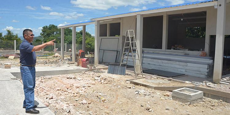 El alcalde municipal de Yauyupe, Jorge Franklin Palma Díaz, gestionó la creación del instituto en el 2014 y hoy tendrá su propio edificio.