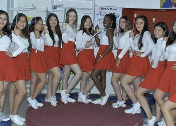 El grupo de lindas palillonas será representado por más de 14 jovencitas que lucirán colores patrios.
