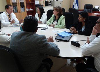 La JDU- UNAH conoce los diferentes proyectos que se están gestionando en los Centros Regionales como en el campus de Tegucigalpa.