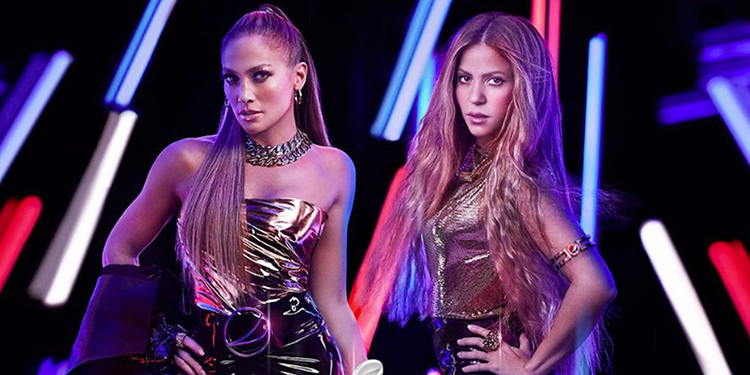 Jennifer López y Shakira serán las encargadas de animar el entretiempo del Super Bowl de 2020.