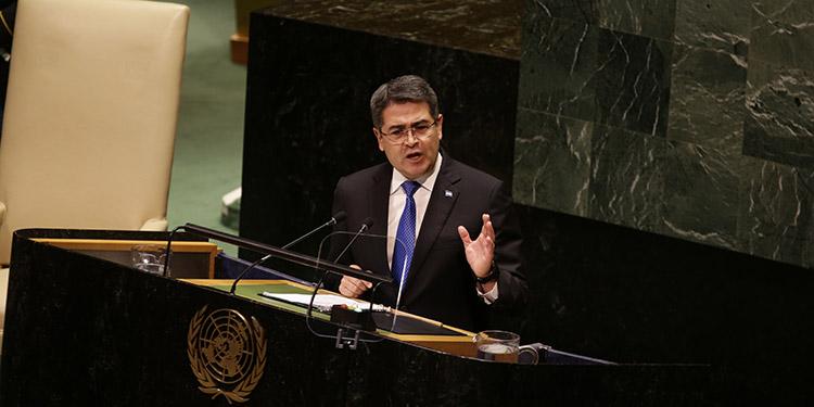 """JOH en ONU: Denuncia """"Guerra de Cuarta Generación"""" – LA TRIBUNA"""