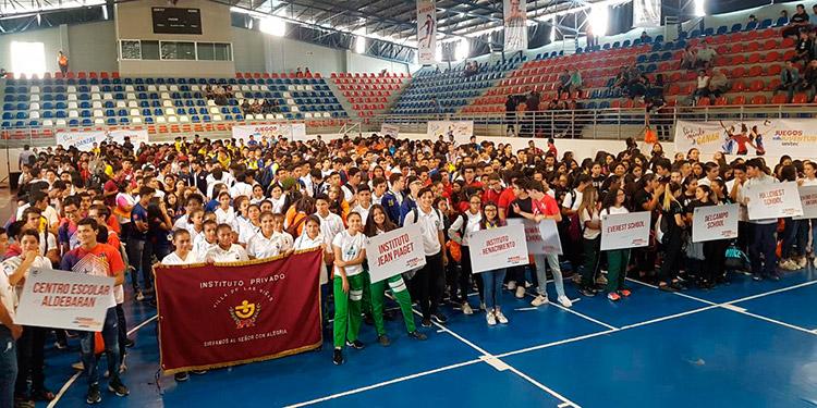 Ayer fueron inaugurados los VI Juegos de la Juventud 2019.
