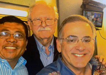 José Cerrato, Jacobo Goldstein y Oscar Haza