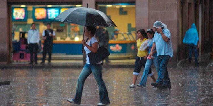 Este miércoles se esperan lluvias en las regiones central, sur y oriente.