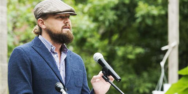 Leonardo DiCaprio dirige varias actividades en pro del medio ambiente.