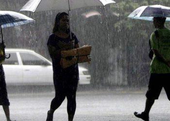 Se esperan lluvias en casi todo el territorio nacional durante este lunes.