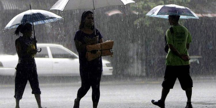 Se esperan lluvias en el sur y occidente durante este jueves.