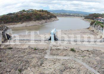 La represa Los Laureles se encuentra con apenas 30% de su capacidad.