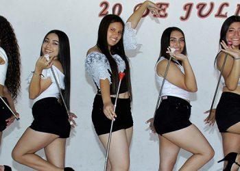 Bianca Murillo (12), Carina Castellanos (15), Larisa Henríquez (14), Sarah Calona (15), Jackeline Argueta (17).