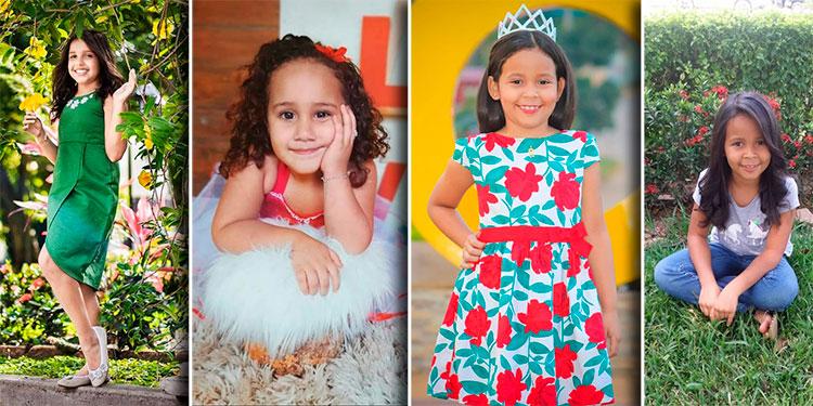 Talentosas niñas de Catacamas han participado en el certamen para elegir la Reina Infantil 2019.