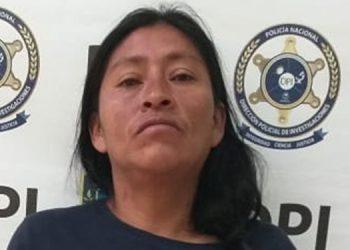 María Clementina Sánchez de 38 años fue recapturada este viernes en Santa Rosa de Copán por transportar drogas.