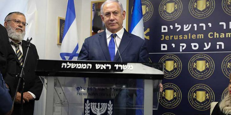 Netanyahu lidera legislativas en Israel pese a su inculpación