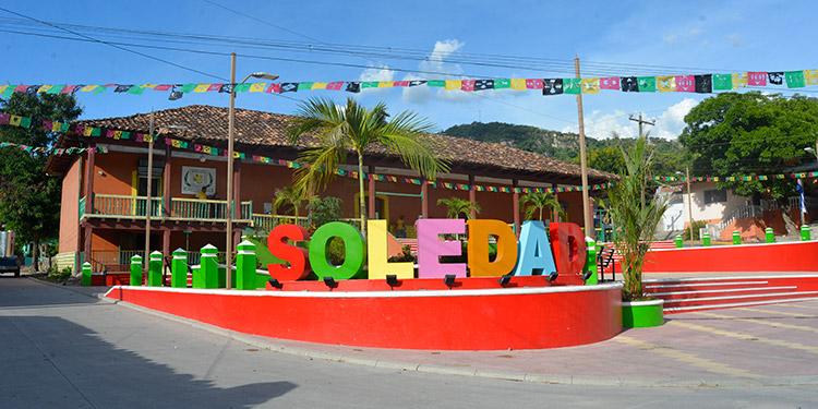 Una hermosa plaza y parador fotográfico tiene ya el municipio de Soledad, El Paraíso.