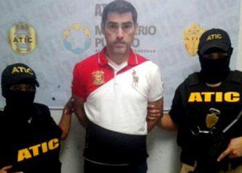 Roger Abraham Flores Díaz (centro) recibió este lunes 221 años de prisión.